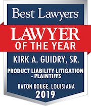 Lawyer of the Year Kirk A. Guidry